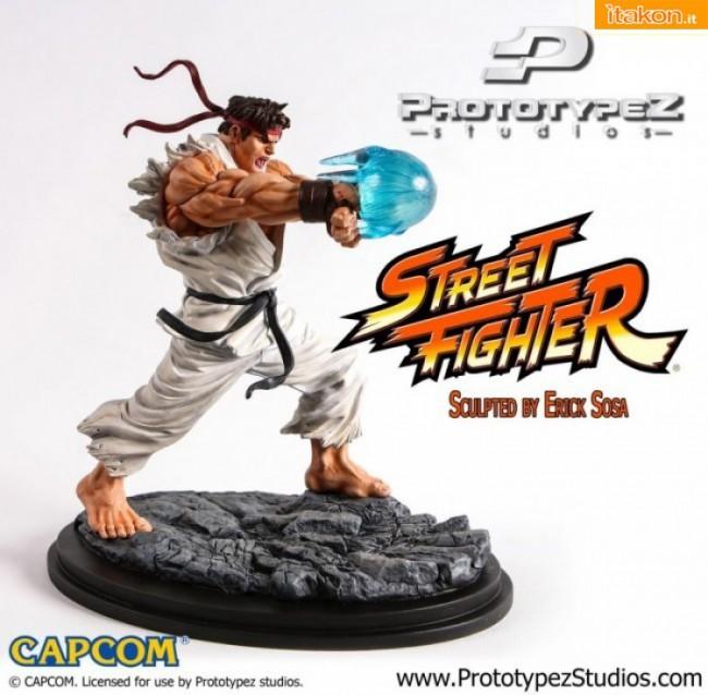 PrototypeZ Studio: In arrivo anche Ryu 1/6 statue dalla serie Street Fighter