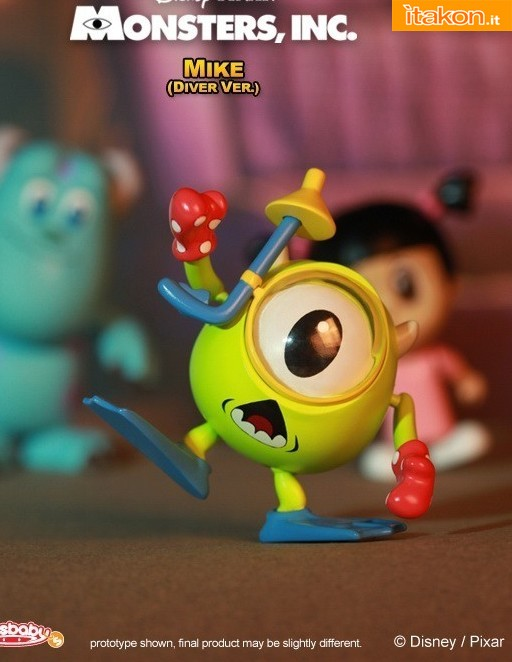 Hot Toys: Monsters, Inc.: Cosbaby (S) Series