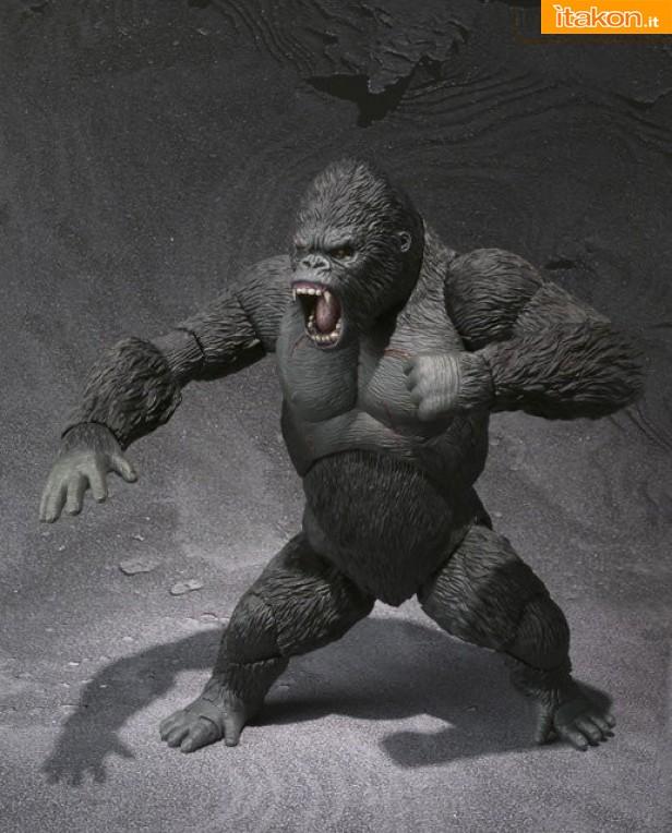 King Kong - S.H.MonsterArts da Bandai - Immagini Ufficiali