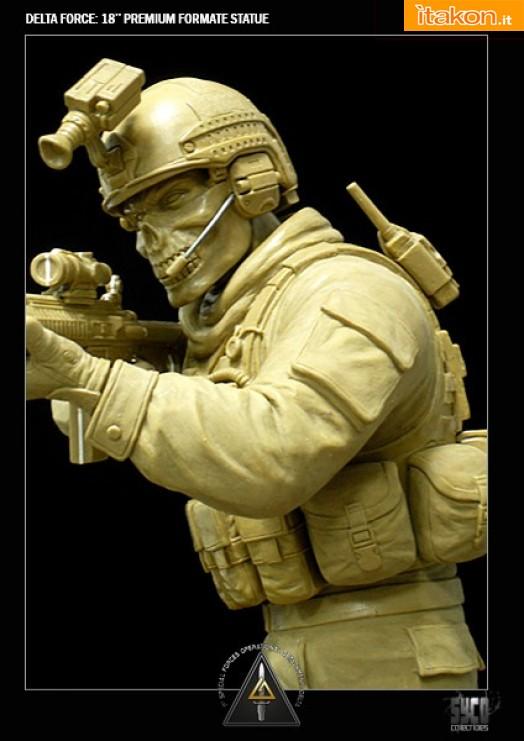Delta Force Premium Format Statue da Syco Collectibles - Anteprima