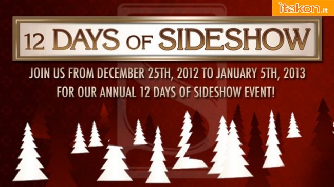 Link a Sideshow: 12 Days of Sideshow