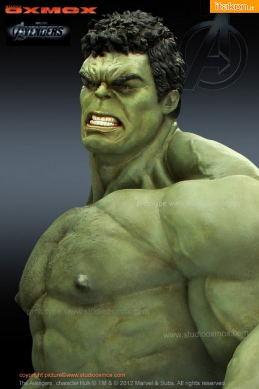 Studio Oxmox : The Avengers Movie - Hulk statue 1:1