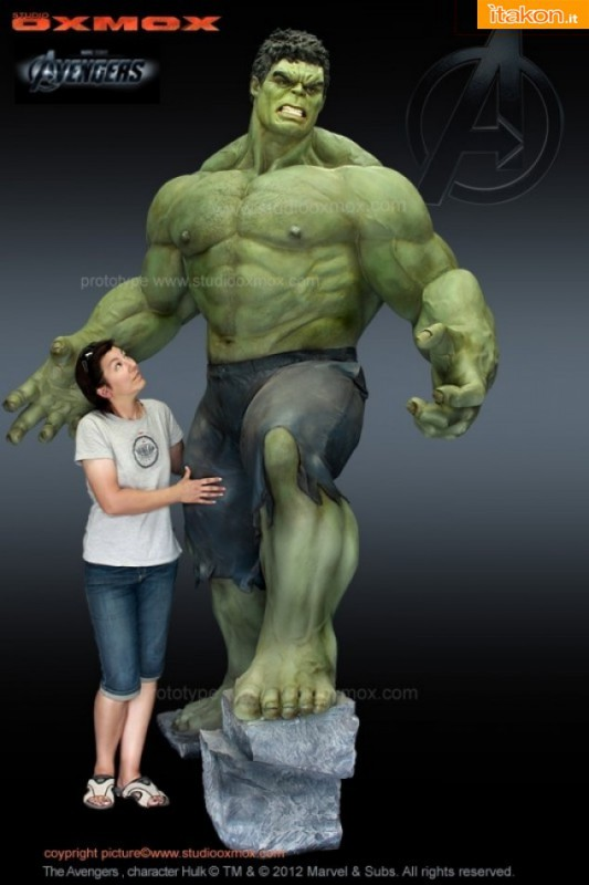 Studio Oxmox : The Avengers Movie - Hulk statue 1:1