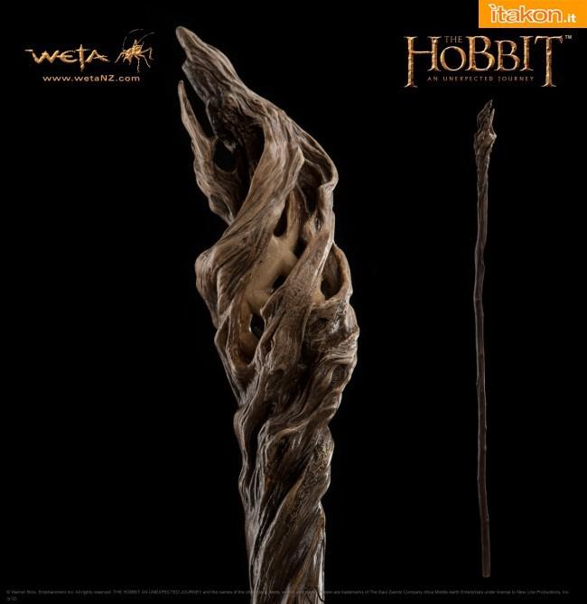 Staff of Gandalf the Grey Prop Replica dalla Weta Collectibles - In Preordine