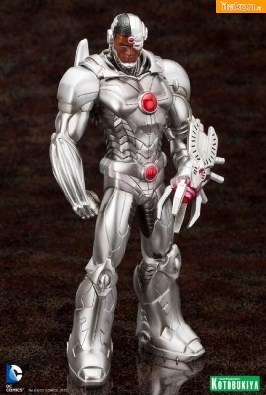 Cyborg New 52 ARTFX+ Statue da Kotobukiya - Immagini ufficiali