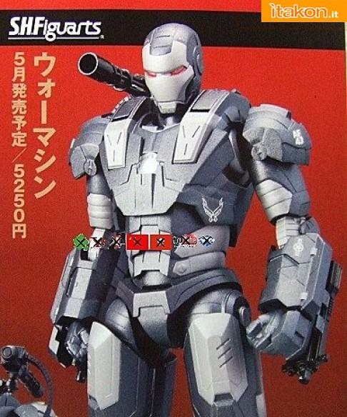 S.H. Figuarts di Iron Man Mark VI e War Machine - Svelati costi e date di uscita