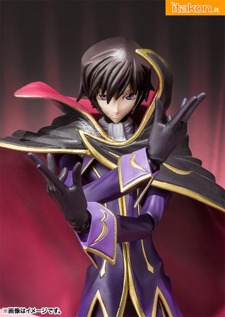 Lelouch - Code Geass - S.H.Figuarts