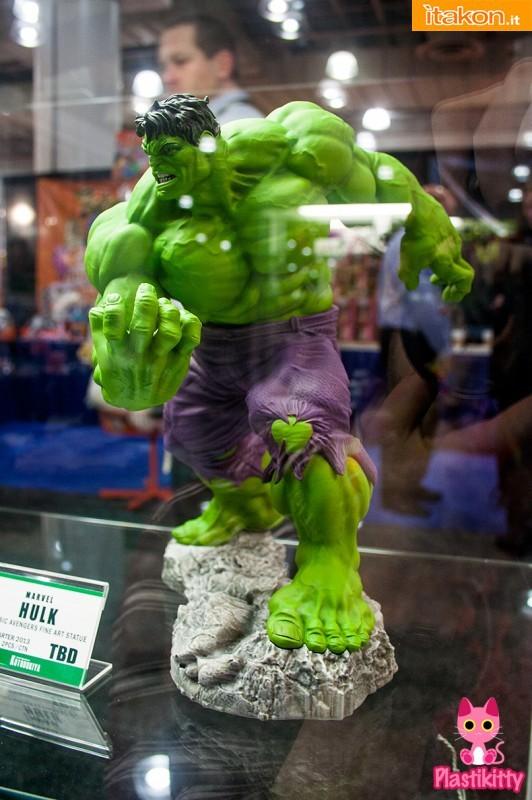 TOY FAIR NY 2013: Prime Immagini di Hulk (Classic Avengers Series) della : Kotobukiya