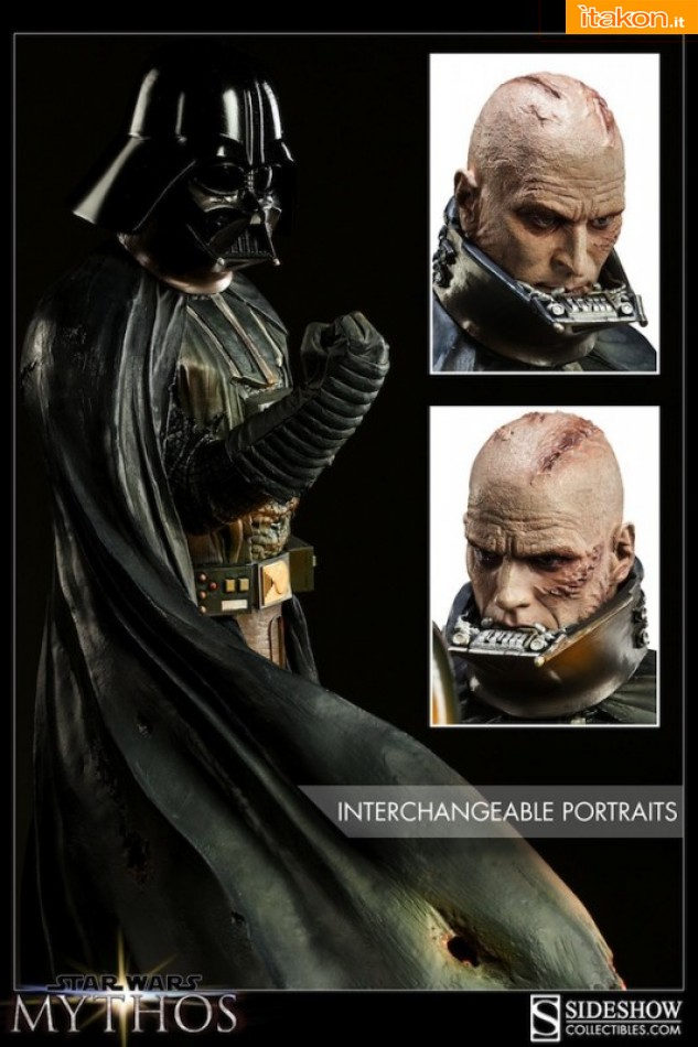 Link a Mythos Darh Vader statue (2)