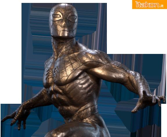 Spider-Man Classics Cold Cast Bronze Statue da Sideshow - Anteprima
