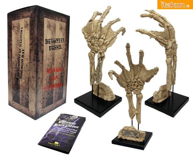 Factory Entertainment: Prop Replica Fossilized Creature From the Black Lagoon
