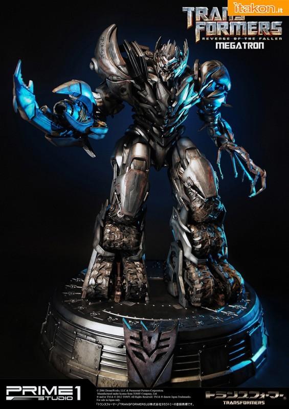 La superba statua di Megatron di Prime 1 Studio - In Preordine