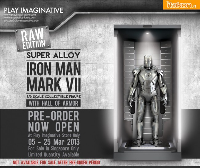 Super Alloy Iron Man Mark VII RAW