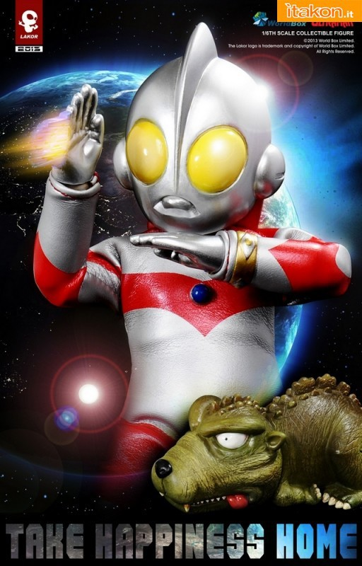 World Box: Lakor Baby 004 Ultraman Baby - Immagini Ufficial