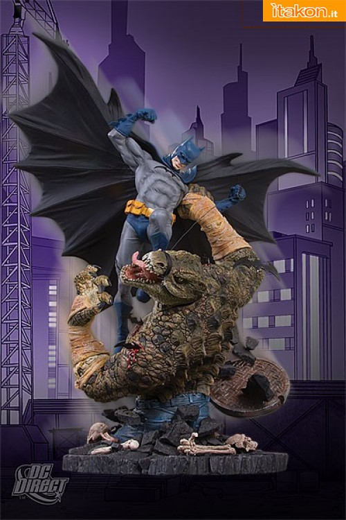 DC Collectibles: Batman VS Killer Croc Statue (Second Edition)