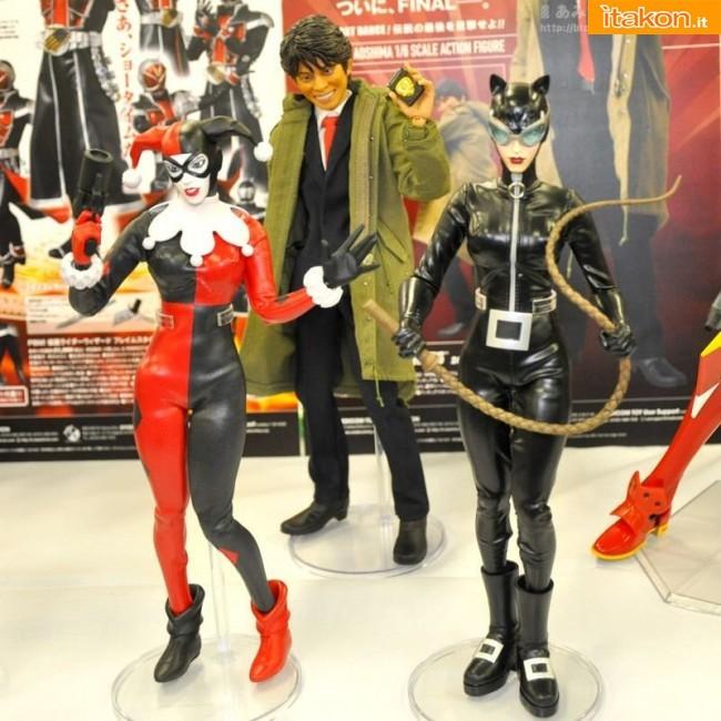 Batman Hush: R.A.H. Harley Quinn 1/6 e Catwoman 1/6