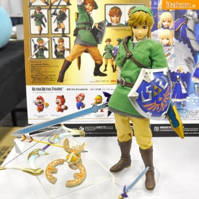 Link a RAH: The Legend of Zelda: Link 1/6 – Prezzo: 20790 yen/ Novembre 2013