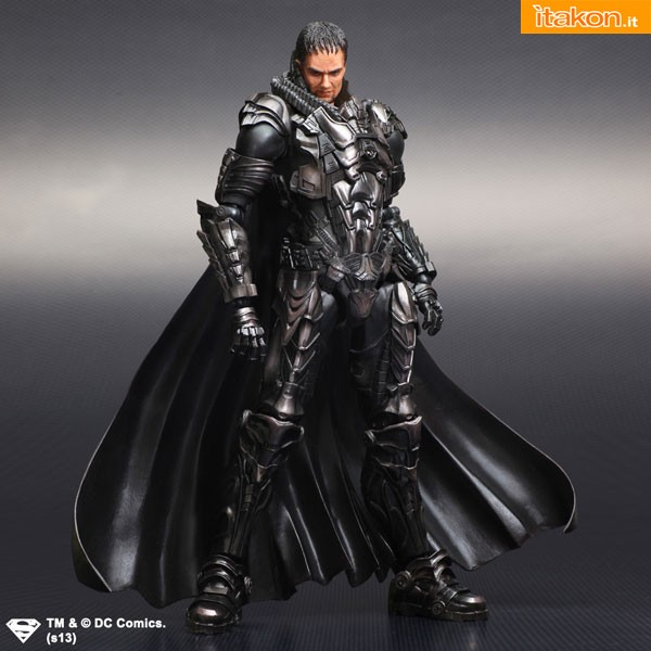 General Zod Man Of Steel Square Enix Play Arts Kai