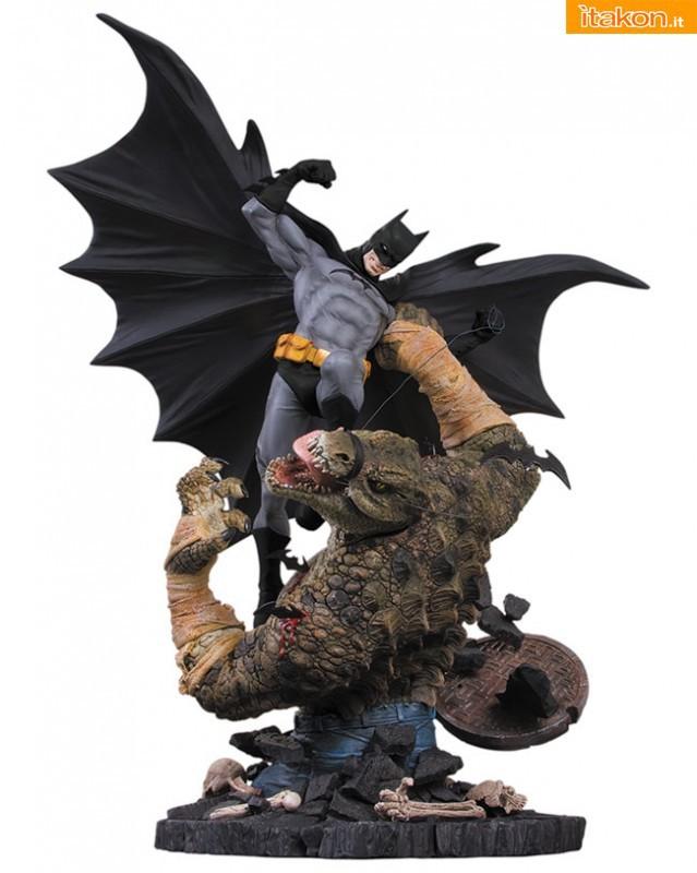 Batman VS Killer Croc Statue