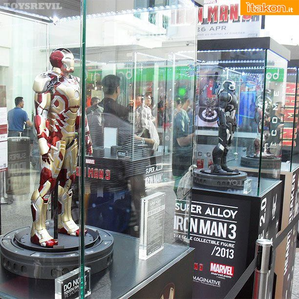Super Alloy Iron Man Martk XLII 1/4