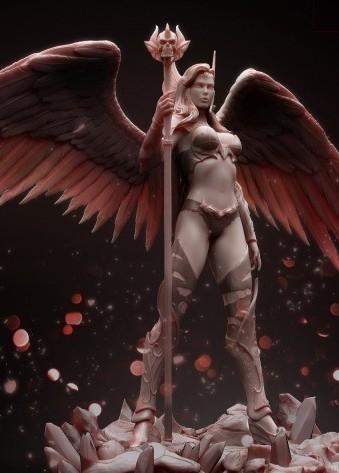 ARH Studios: Angel of Darkness 1/4 statue - Anteprima