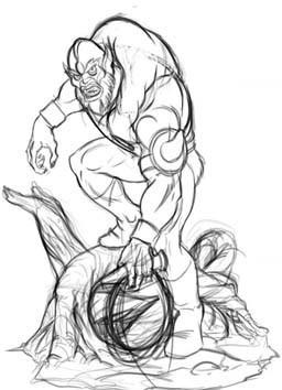 Beast Man 1/4 Statue di Pop Culture Shoc