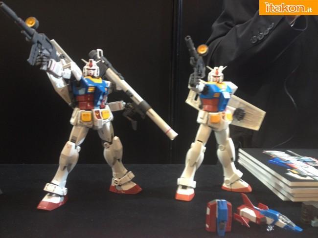 gundam RX-78 2 comparazione