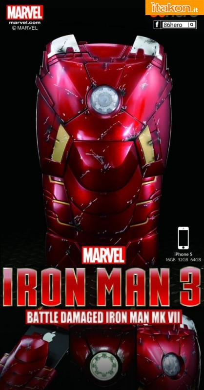 86hero: MARK VII Battle Damaged iPhone 5