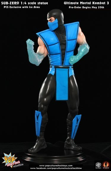 Ultimate Mortal Kombat 3: Anteprima di Sub-Zero Classic Statue di Pop Culture Shock