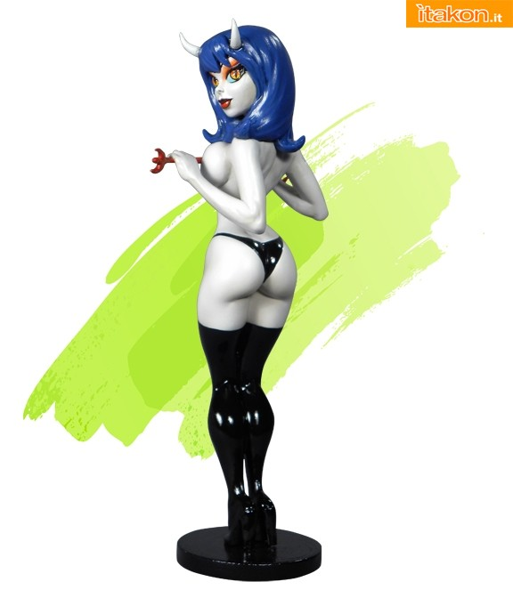 CS Moore Studio: Little Minxies Sinful Suzi Statue - In Preordine