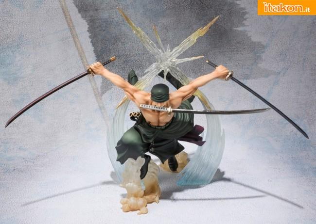 Link a zoro roronoa – one piece – figuarts zero – bandai – rengoku oni giri 4