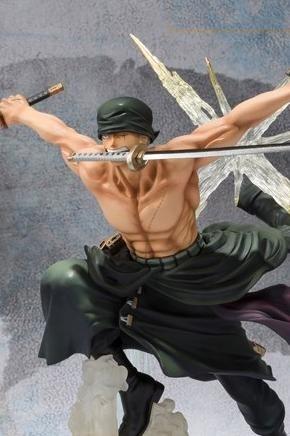 Link a zoro roronoa – one piece – figuarts zero – bandai – rengoku oni giri anteprima