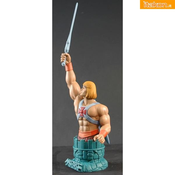 Icon Heroes: Masters of the Universe He-Man Mini Bust - Immagini Ufficiali
