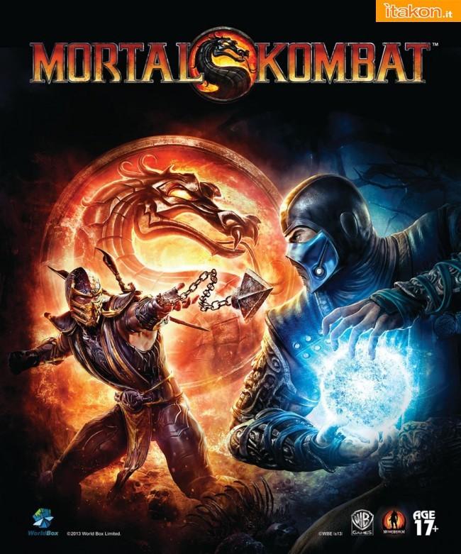 WorldBox: Acquisita la licenza Mortal Kombat per lo sviluppo di figure da collezione 1/6