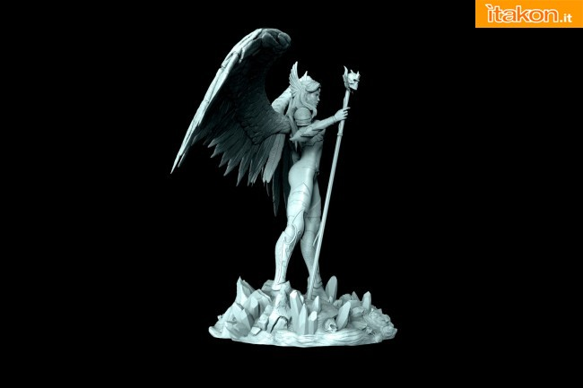 ARH Studios: Angel of Darkness 1/4 statue