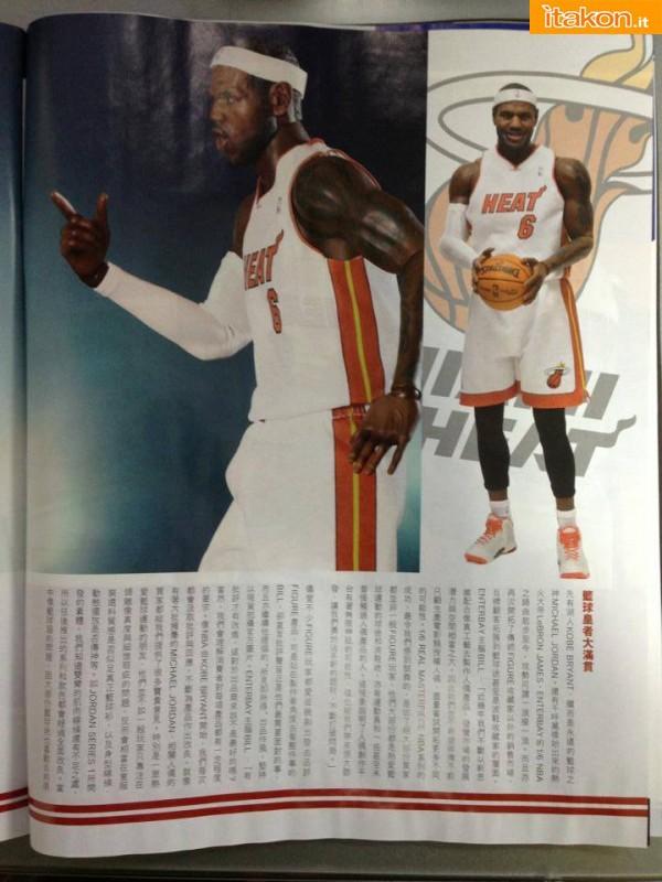 Nba Series: LeBron James Real Masterpiece 1/6 di Enterbay - Anteprima