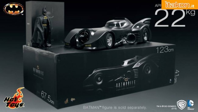 Hot Toys: In arrivo la Batmobile 1989