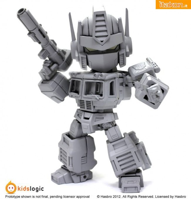 Transformers: Deformed Action Figure Optimus Prime di Kids Logic - Anteprima