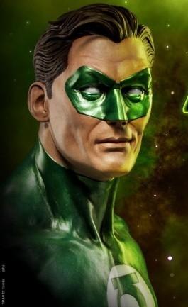 DC Comics : Green Lantern Life Size Bust 1/1 di Sideshow - Anteprima