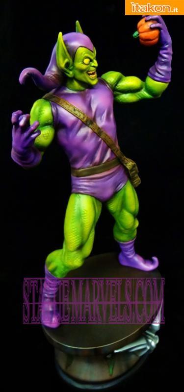 Bowen Designs: Green Goblin Museum Statue Marvel - Foto anteprima