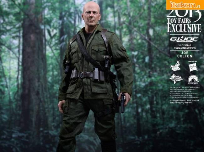 "Hot Toys - 2013 Toy Fairs exclusive - Joe Colton da ""G.I. Joe Retaliation"""