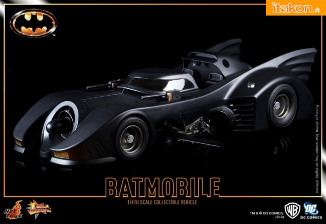 Link a Hot Toys: Batman: 1/6th scale Batmobile � Immagini Ufficiali