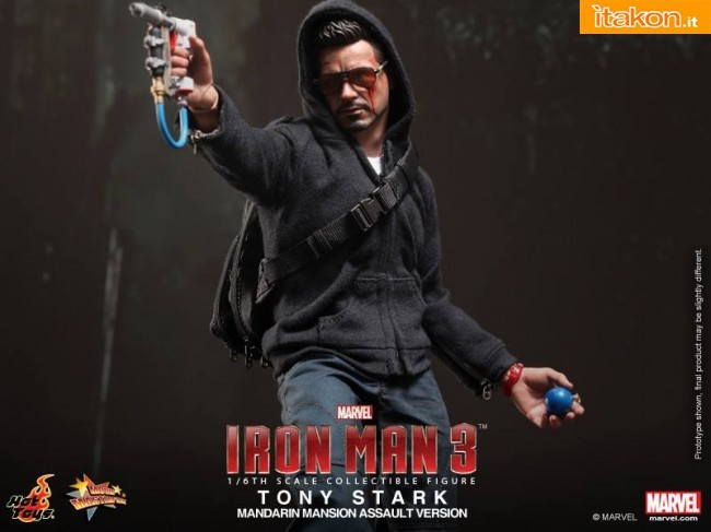 foto ufficiali di Tony Stark Mandarin Mansion Assault Version di Hot Toys
