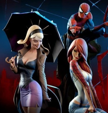 Gwen Stacy, Mary Jane e Spider-Man di Sideshow - Coming Soon