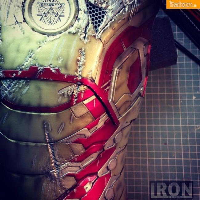 Iron Man 3: Mark XLII Battle Damaged 1/2 di Iron Studios - Nuovo Aggiornamento