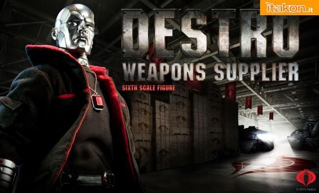 G.I.Joe: Destro 1/6 scale figure di Sideshow - Anteprima