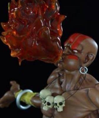 Street Fighter: Dhalsim statue di Pop Culture Shock - Info Preordini