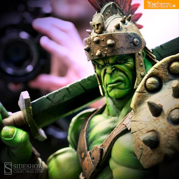 Marvel : World War Hulk Premium Format Figure di Sideshow - In Arrivo