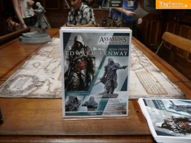 Assassin's Creed IV - Edward Kenway in resina mostrato da McFarlane Toys