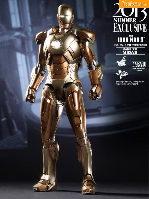 Link a Hot Toys 2013 Toy Fairs exclusive � Midas (Mark XXI) da Iron Man 3 – Foto ufficiali